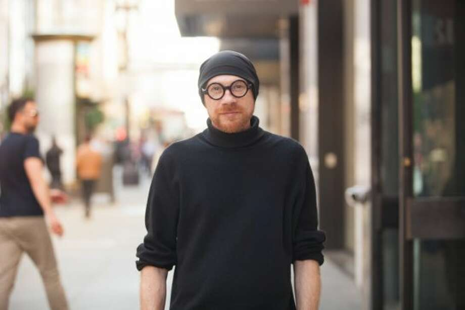 "Menswear designer James Murphy ""just threw on"" this simple, casual look. See more #SFStyle photos at www.sfgate.com/sfstyle. Photo: Anna-Alexia Basile"