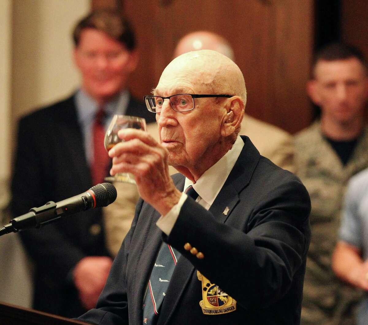 Retired Air Force Lt. Col. Richard
