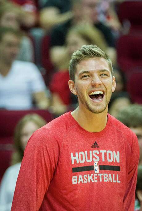 As his statistics attest, forward Chandler Parsons is playing a bigger role with the Rockets. Photo: Smiley N. Pool, Staff / © 2013  Houston Chronicle