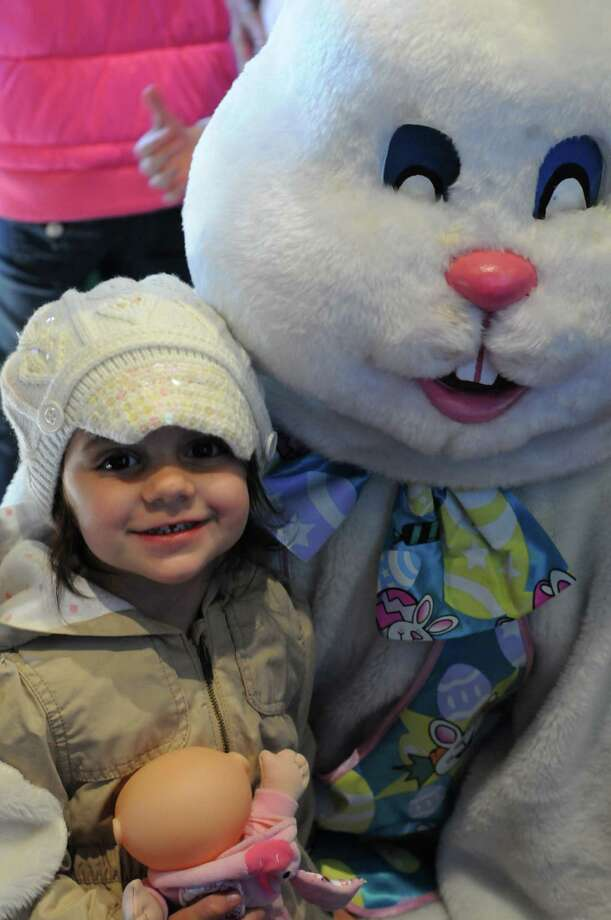 Dozens of families enjoyed a beautiful morning at the Pequot Library's 8th Annual Easter Egg Roll in Southport. Were you SEEN? Photo: Stacey Scruggs/Hearst Connecticut Media Group