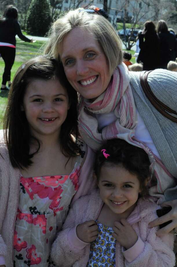 Dozens of families enjoyed the beautiful weather at the 8th Annual Easter Egg Roll at the Pequot Library in Southport. Were you SEEN? Photo: Stacey Scruggs/Hearst Connecticut Media Group