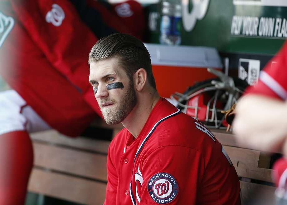 "Bryce Harper called his removal by Matt Williams ""part of the game."" Photo: Alex Brandon, Associated Press"