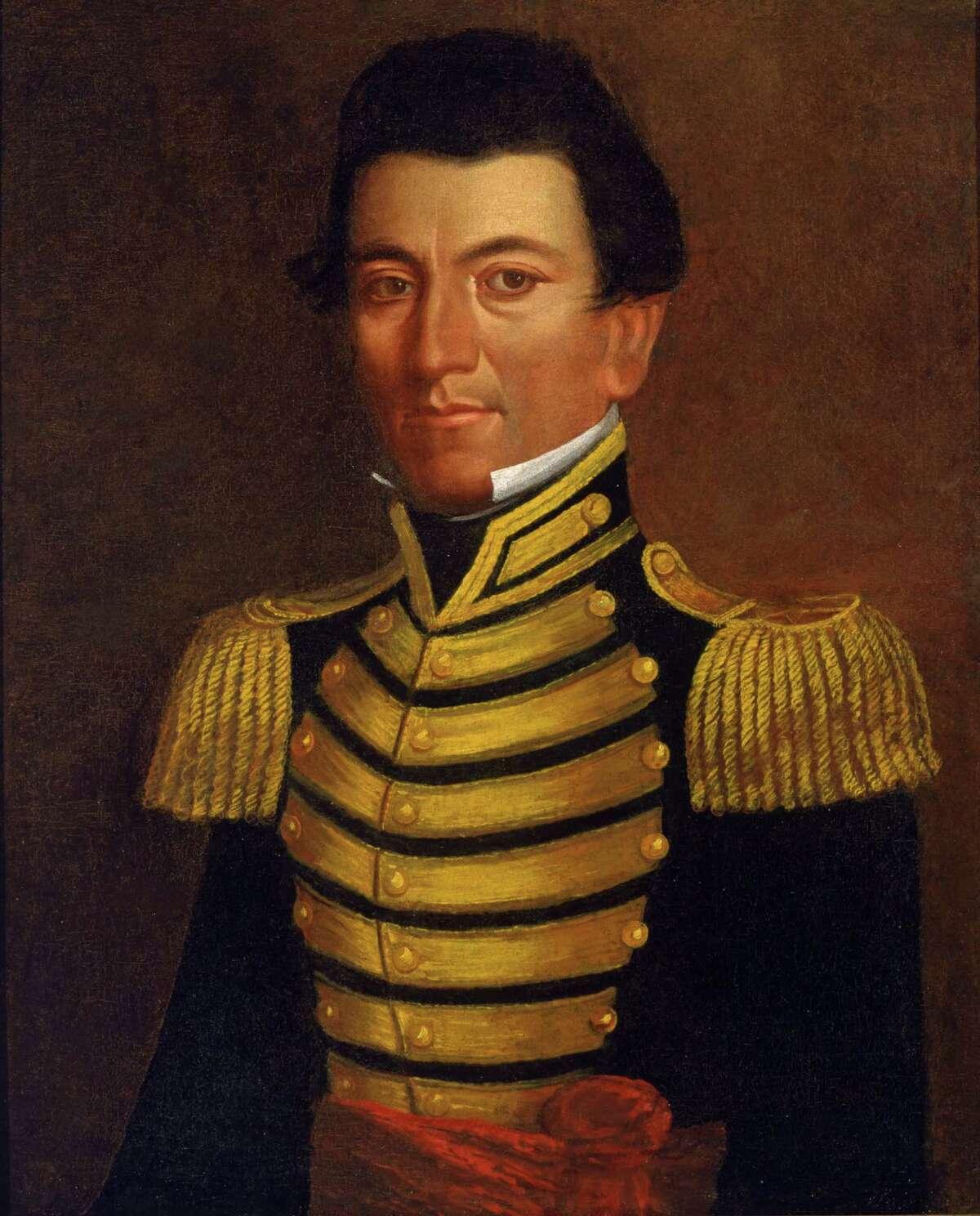 Juan Seguin, a hero of the Texas Revolution, was San Antonio's first Hispanic mayor.
