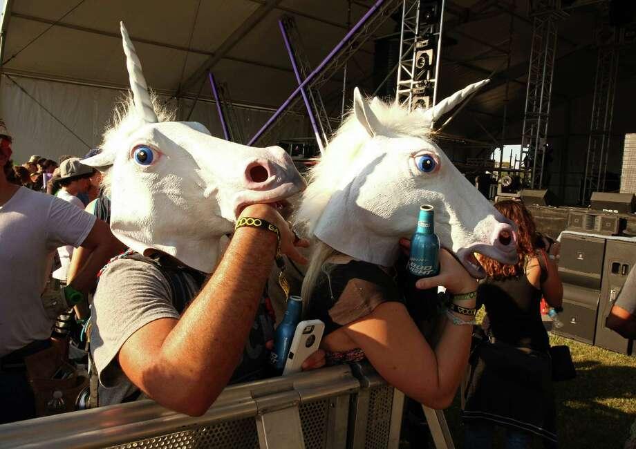 The Unicorns 2003 Photo: Barry Brecheisen, AP Photos / Invision2012