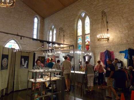Artisans sell their wares during the Fiesta Arts Fair on Saturday, April 18, 2014. Photo: Billy Calzada, San Antonio Express-News /  San Antonio Express-News