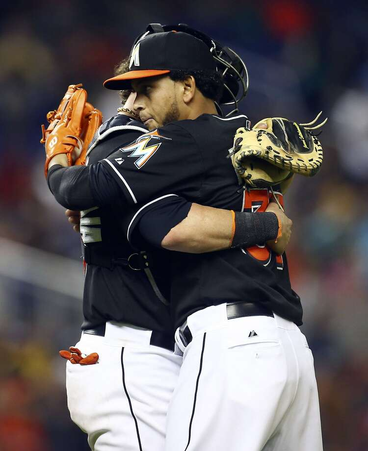 Marlins pitcher Henderson Alvarez pitched a two-hit shutout against the Mariners. Photo: J Pat Carter, Associated Press