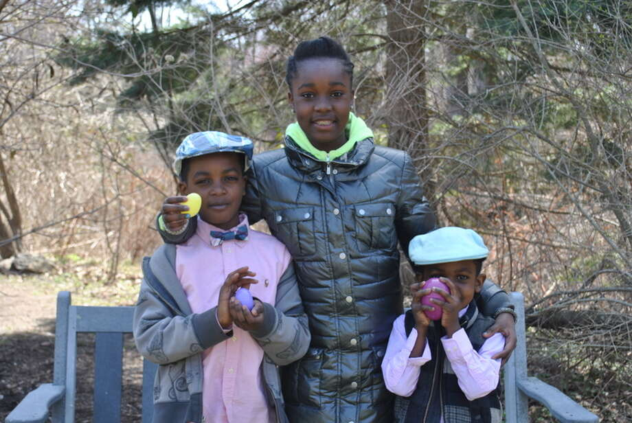 The New Canaan Nature Center held it's annual Easter Egg Hunt on Saturday April 19. Were you SEEN at the Egg Hunt? Photo: Picasa, Lauren Stevens/Hearst Media Group