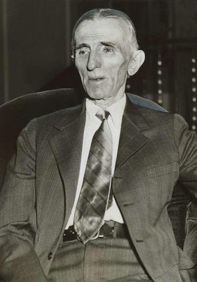 July 12, 1933 - Nikola Tesla Photo: PHOTO CREDIT:, World Wide Photos