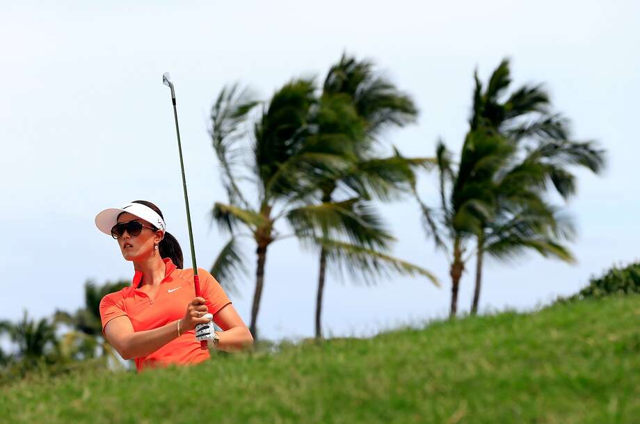 Michelle Wie comes to Lake Merced tourney atop the LPGA money list. Photo: Jamie Squire, Getty Images