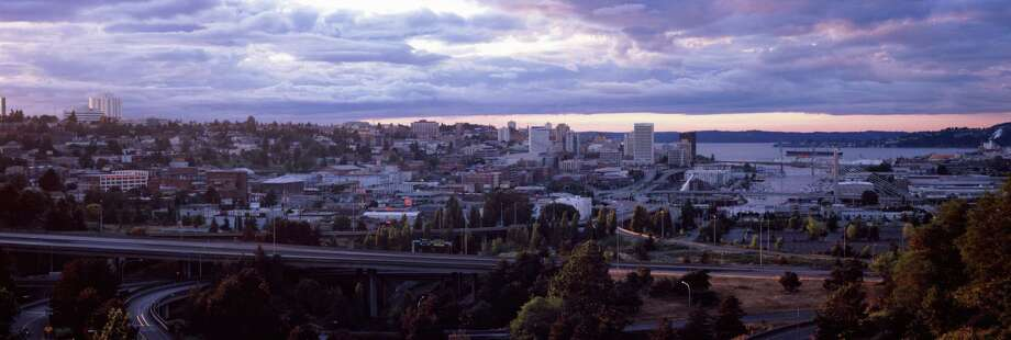 """The tideflats of Tacoma, the """"City of Destiny,"""" were once heralded as site of the world's largest methanol plant. Its Chinese-backed developer pulled the plug on Tuesday, citing lingering pollution from a former aluminum smelter, and decrying """"the misinformation swirling about potential impacts of our project.""""  Photo: Panoramic Images, Getty Images / Panoramic Images"""