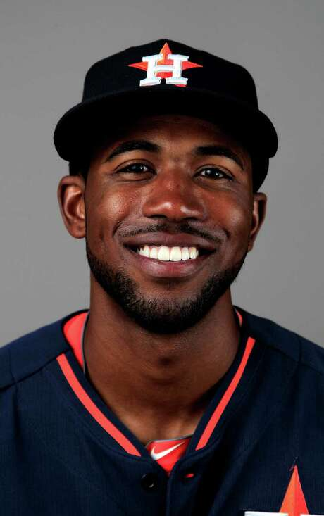 Houston Astros Dexter Fowler (21) photographed during media day at the Houston Astros spring training facility,Friday, Feb. 21, 2014. ( Karen Warren / Houston Chronicle ) Photo: Karen Warren, Staff / © 2013 Houston Chronicle