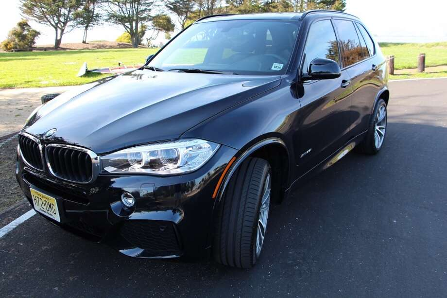 The 2014 BMW X5, the company's top-of-the-line SUV.  (All photos by Michael Taylor)