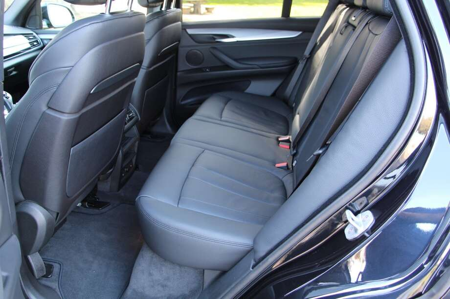 There's enough room in the rear seat for three passengers to travel comfortably.