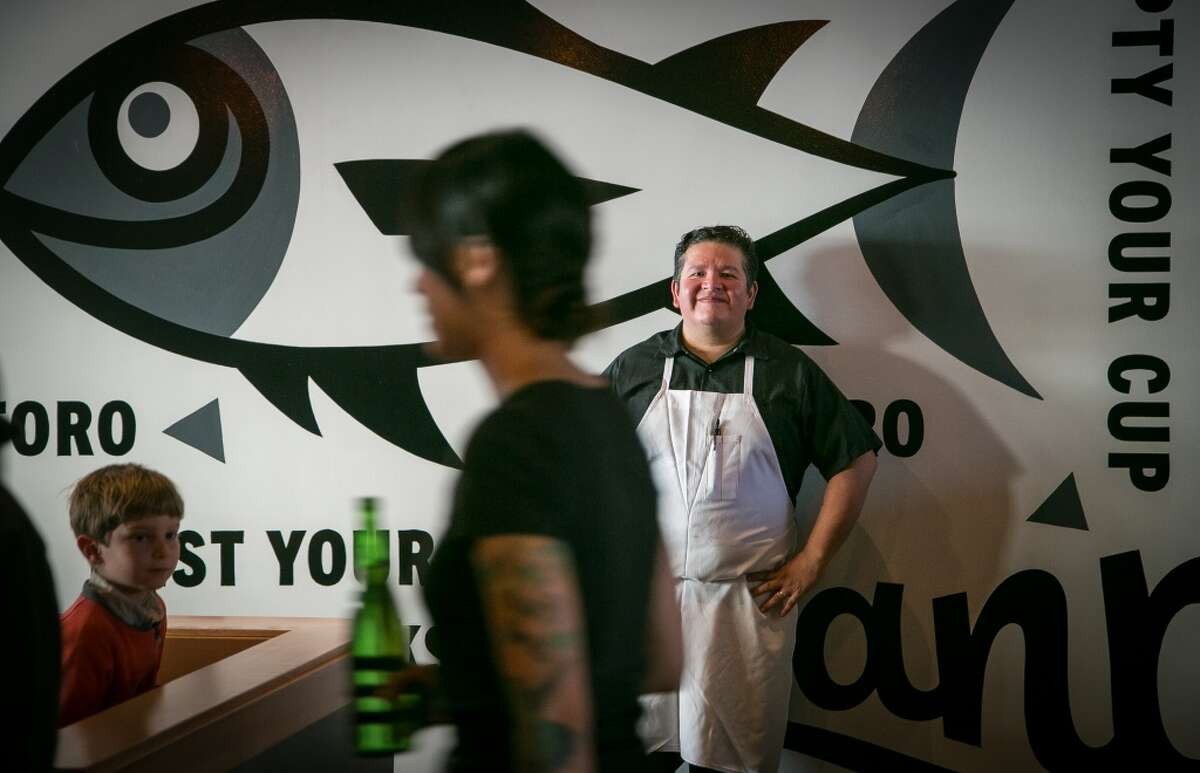 Chef/owner Tim Archuleta at Ichi Sushi in San Francisco.