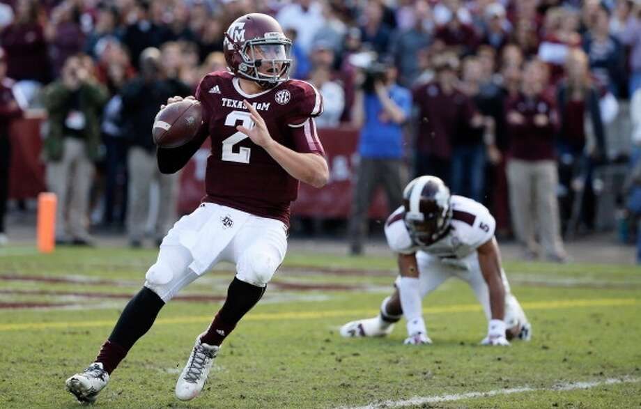 Top 5 prospect  Johnny Manziel, 5-11 ¾, 207, 4.68, Texas A&M  The most polarizing prospect in the draft could go anywhere from first to fifth in the first round. Lacks ideal size, and most scouts believe his style of play will lead to injuries. There's no denying his talent, instincts, leadership or competitiveness. Photo: Scott Halleran, Getty Images