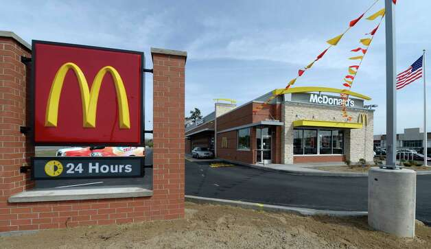 A new state-of-the- art McDonald's opened April 18, 2014 at Crossgates Commons in Albany. Photo: Skip Dickstein / 00026555A