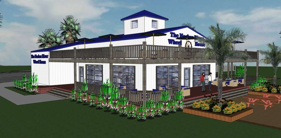 Developers of the Wheelhouse restaurant envision something like Stingarees restaurant on Crystal Beach. The Wheelhouse restaurant is expected to open next spring on a 2.5 acre lot along the Neches River in Port Neches. Numerous city meetings were held to talk about the development, which city officials hope will attract business to the area. Photo: None, Courtesy Bert Lamson Design