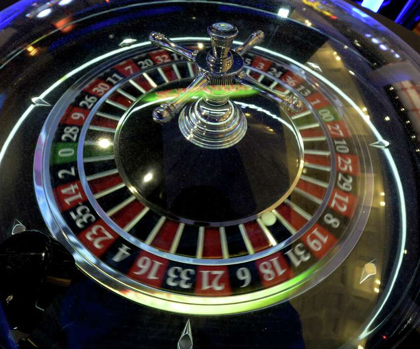 Electronic Roulette at the Saratoga Casino and Raceway Thursday afternoon Sept 12, 2013 in Saratoga Springs, N.Y. (Skip Dickstein/Times Union) ORG XMIT: MER2013091216140948