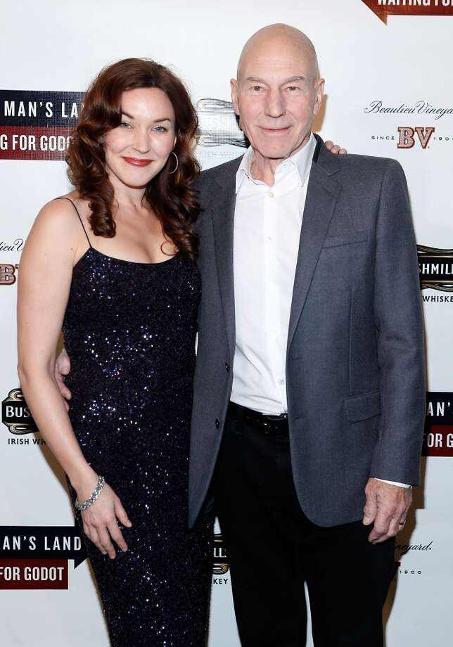 Patrick Stewart and Sunny Ozell (Age difference: 38 years)