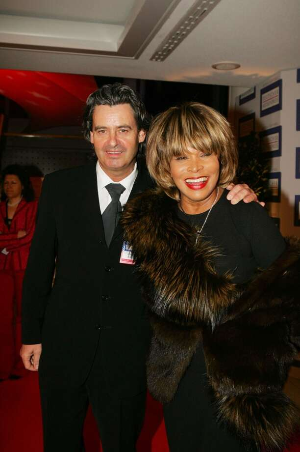 Tina Turner and Erwin Bach(Age difference: 16 years) When he was born in 1956, she was just beginning to sing in nightclubs. Photo: Franziska Krug, Getty Images
