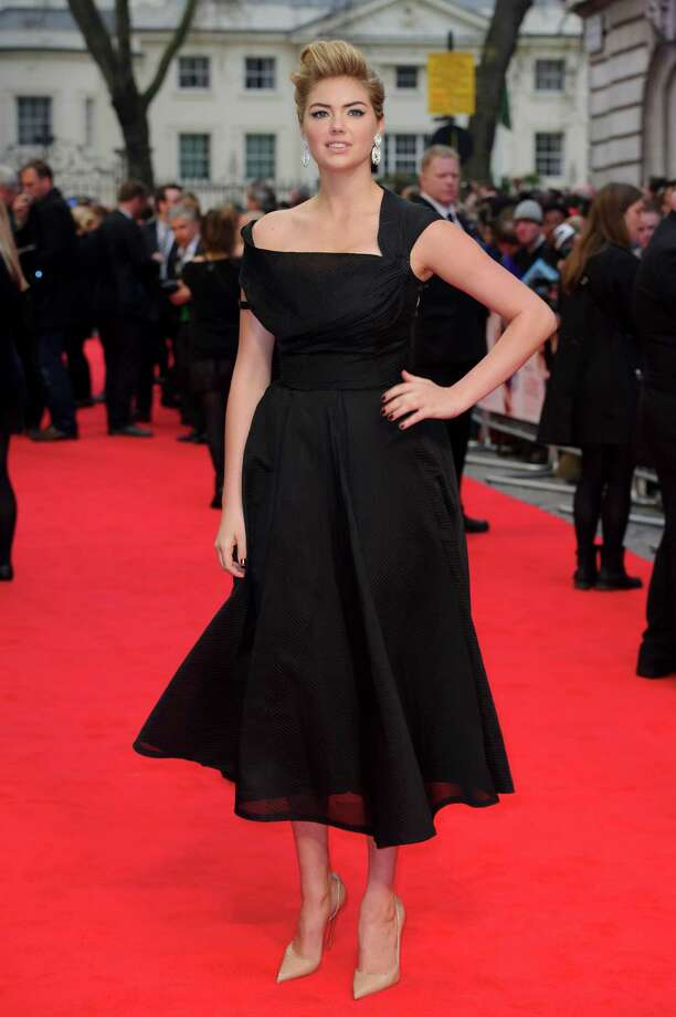 U.S actress Kate Upton arrives for the UK premiere of The Other Woman at a central London cinema, London, Wednesday April 2, 2014. (Photo by Jonathan Short/Invision/AP) Photo: Jonathan Short, Multiple / AP2014