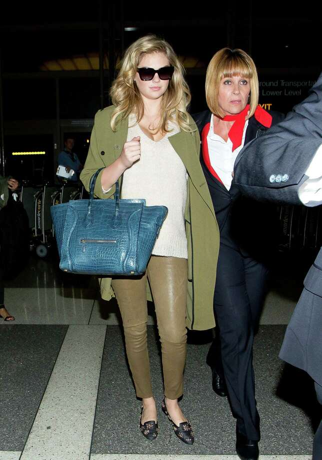 Kate Upton is seen at LAX on April 13, 2014 in Los Angeles, California.  (Photo by GVK/Bauer-Griffin/GC Images) Photo: GVK/Bauer-Griffin, Multiple / 2014 Bauer-Griffin
