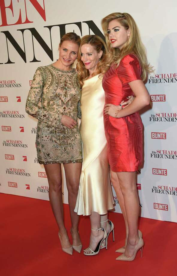 (L-R) Actress Cameron Diaz, Leslie Mann and Kate Upton attend the German premiere of the film 'The Other Woman' (German title: Die Schadenfreundinnen) at Mathaeser Filmpalast on April 7, 2014 in Munich, Germany.  (Photo by Hannes Magerstaedt/Getty Images) Photo: Hannes Magerstaedt, Multiple / 2014 Getty Images