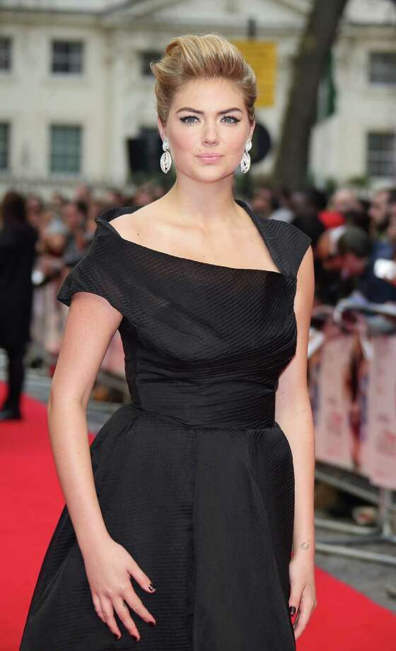 "Kate Upton attends the UK Gala premiere of ""The Other Woman"" at The Curzon Mayfair on April 2, 2014 in London, England.  (Photo by Mike Marsland/WireImage) Photo: Mike Marsland, Multiple / 2014 Mike Marsland"