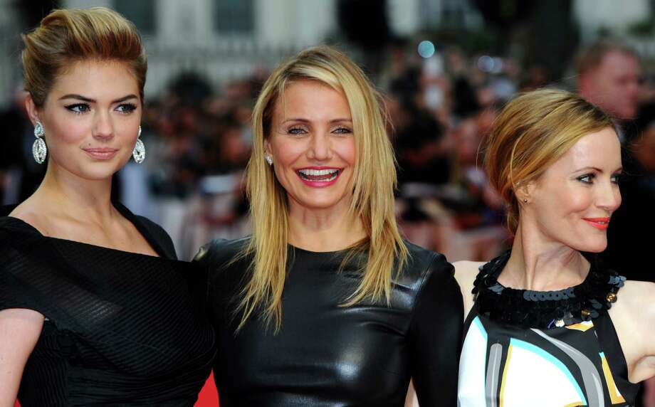"(L to R) Kate Upton, Cameron Diaz and Leslie Mann attend the UK Gala premiere of ""The Other Woman"" at The Curzon Mayfair on April 2, 2014 in London, England.  (Photo by Anthony Harvey/Getty Images) Photo: Anthony Harvey, Multiple / 2014 Getty Images"