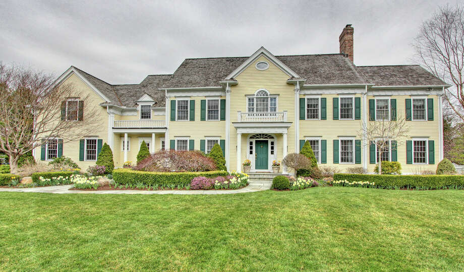The house at 396 Midlock Road is on the market for $2,795,000. Photo: Contributed Photo / Fairfield Citizen