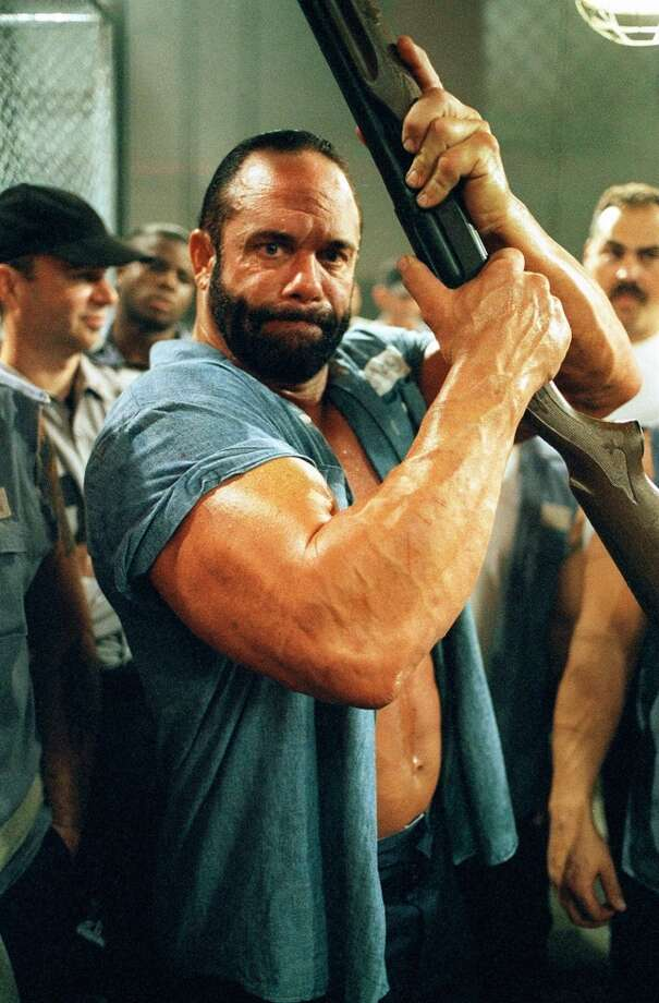 Randy Savage guest stars as Wide Load Lunt, a convict forced to participate in brutal fights between prisoners that are staged by guards. Photo: BILL MATLOCK, CBS