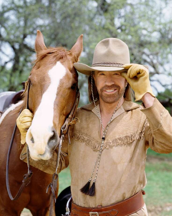 Cordell Walker (Chuck Norris) goes back in time to the Wild West. Photo: ROBERT VOETS, CBS