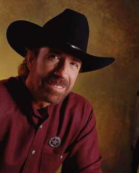 "Chuck Norris, the star of ""Walker, Texas Ranger"" was actually born in Ryan, Okla. Photo: TONY ESPARZA, CBS"