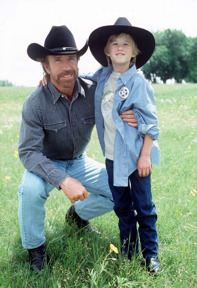 Walker (Chuck Norris) becomes guardian to Lucas (guest star Haley Joel Osment), a young boy who has contracted AIDS from his drug-addicted mother, on a special two-part episode. Photo: MONTY BRINTON, CBS