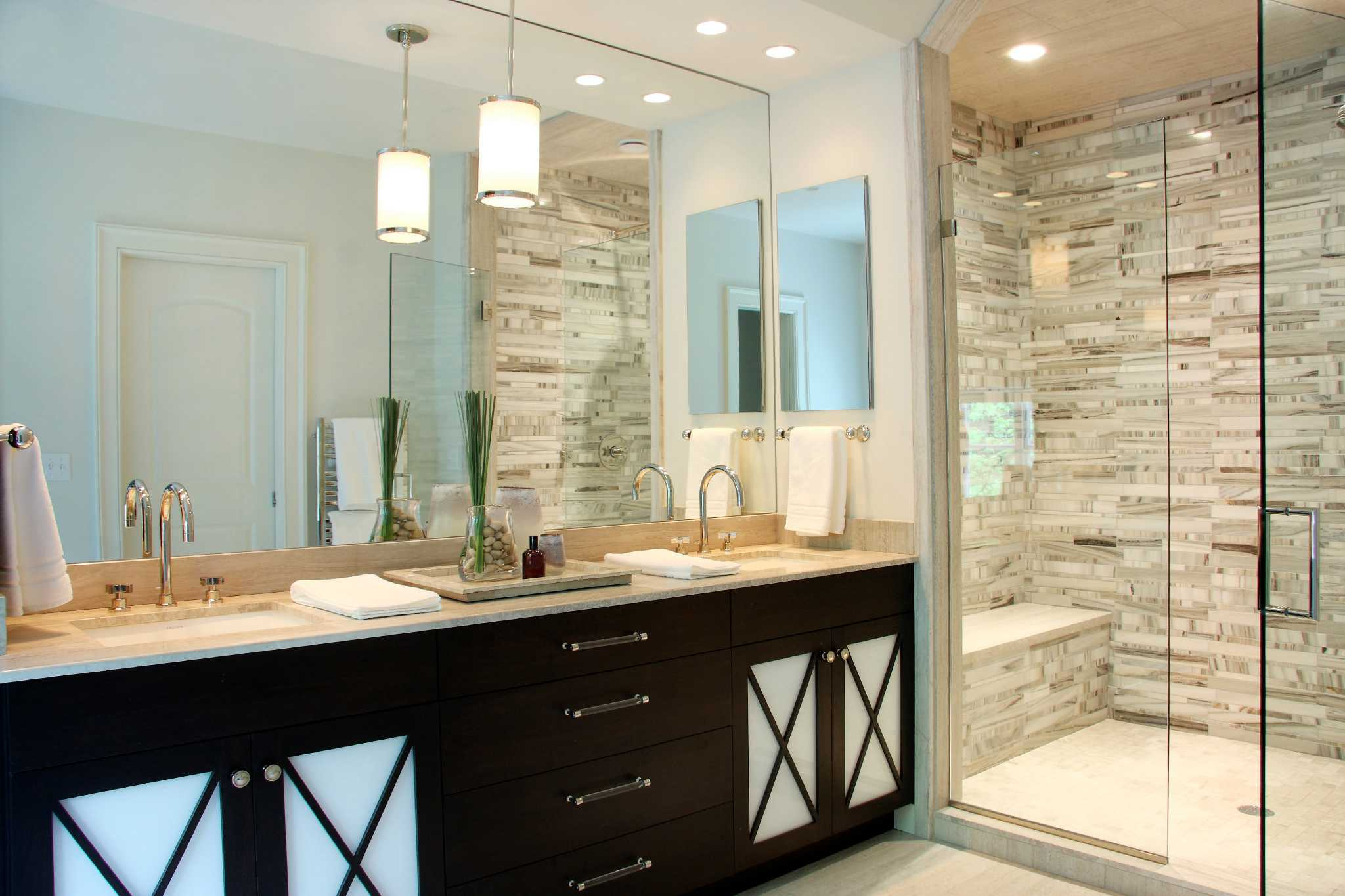 Spa like feel wanted for today 39 s bathroom connecticut post for Bathroom cabinets york pa