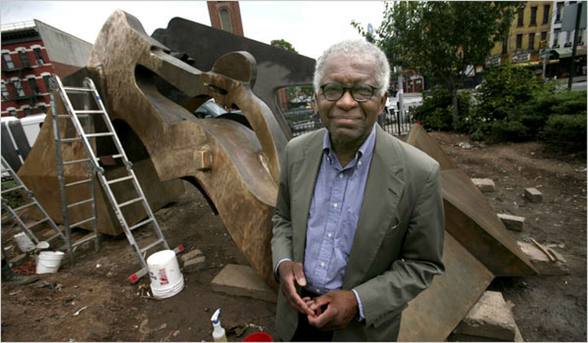 Richard Hunt, 78, has been called one of the greatest living American sculptors. The Chicago artist is featured in