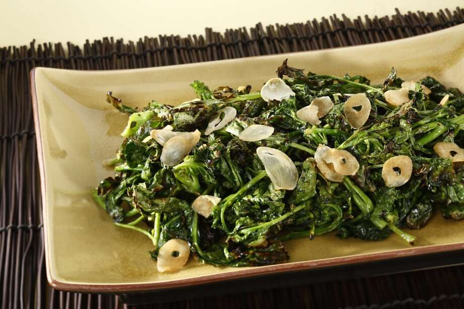 Bruce Hill's Wood-Grilled Broccoli Di Ciccio . Photo: Craig Lee, Special To The Chronicle