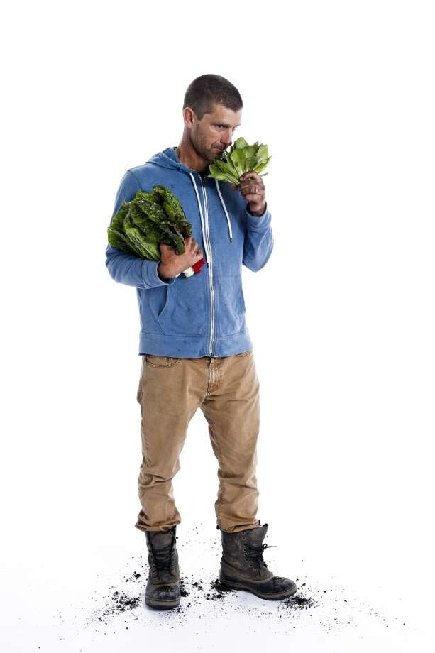 Joel Schirmer of Dirty Girl Produce in Santa Cruz. Photo: Russell Yip, The Chronicle