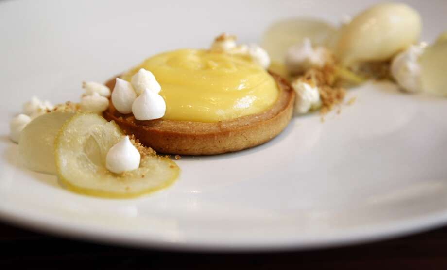 The lime tart at Assembly in Santa Cruz, Calif., on Thursday, April 10, 2014. Photo: Special To The Chronicle