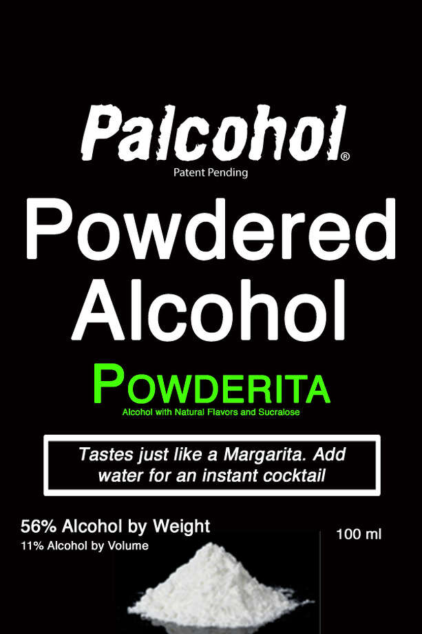 "A label for the ""Powderita"" (margarita) version of ""Palcohol"" powdered alcohol. Photo: LIPSMARK LLC Via Alcohol And Tobacco Tax And Trade Bureau"