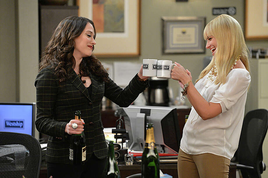 Caroline helps Max earn her high school degree and reconnect with her mother on the '2 Broke Girls' season finale. 7 p.m., Monday, May 5th on CBS. Photo: Darren Michaels, ©2013 Warner Bros. Television. All Rights Reserved. / Ã?©2013 Warner Bros. Television. All Rights Reserved.