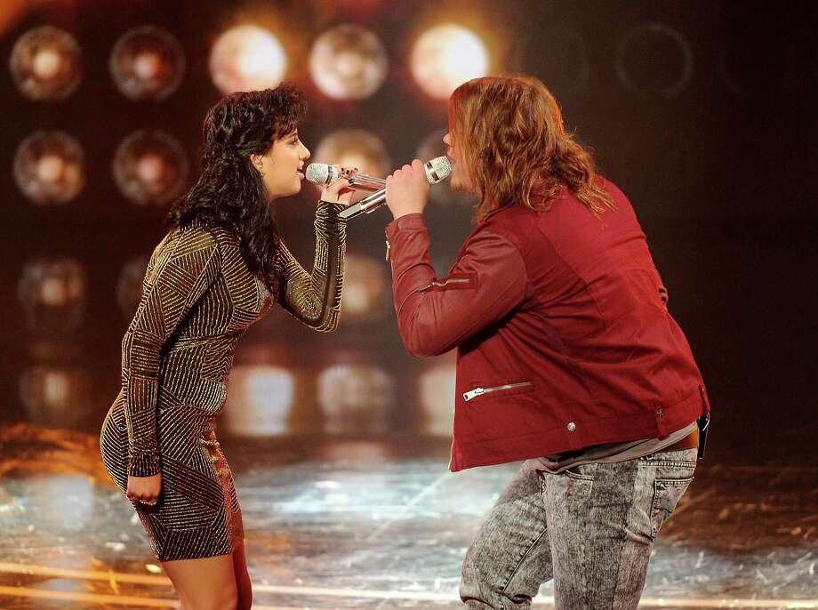 """American Idol"" Season 13 singers Jena Irene and Caleb Johnson have offered some of the season's only real bright spots. Photo: Frank Micelotta/FOX"