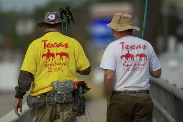 Texas EquuSearch has gained national renown for their investigations. Take a look back at some of their prominent cases.Members search a wooded area along Cypress Creek at I-45 north of FM-1960 for Melissa Rene Sowders, 26, a pregnant woman who went missing Dec. 26, 2013, in Houston. Photo: Johnny Hanson, Houston Chronicle / Houston Chronicle