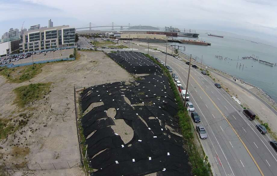Abandoning their plan to build a new arena on Piers 30-32, The Golden State Warriors  purchased a new area off thirds street in the Mission Bay district seen on on Monday April 21, 2014 in San Francisco, Calif. Photo: Mike Kepka, The Chronicle