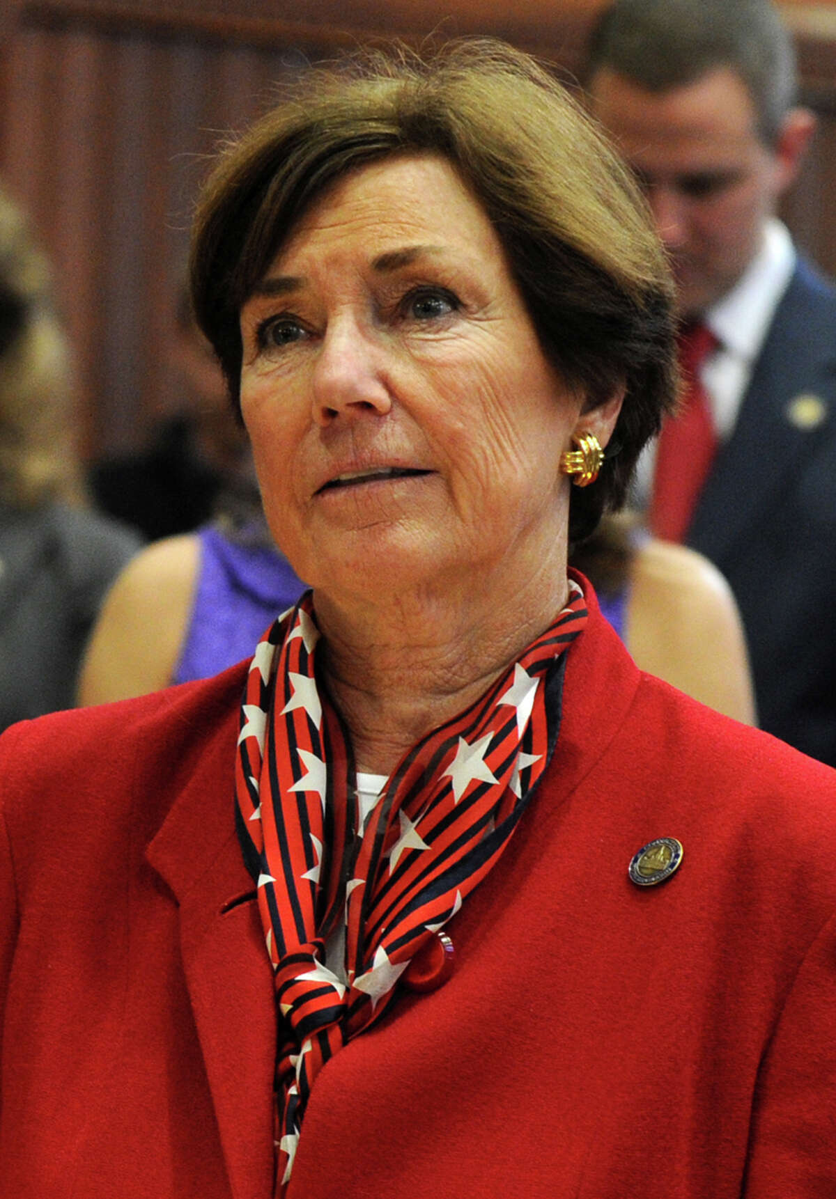 Rep. Livvy Floren, R-149, of Greenwich, at the Capitol in Hartford, Conn. on Thursday, February 6, 2014.