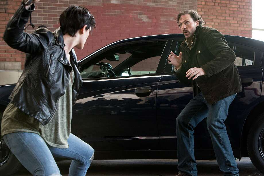 "Jacqueline Toboni, far left, in a scene with Silas Weir Mitchell on ""Grimm."" Photo: Scott Green, NBC"
