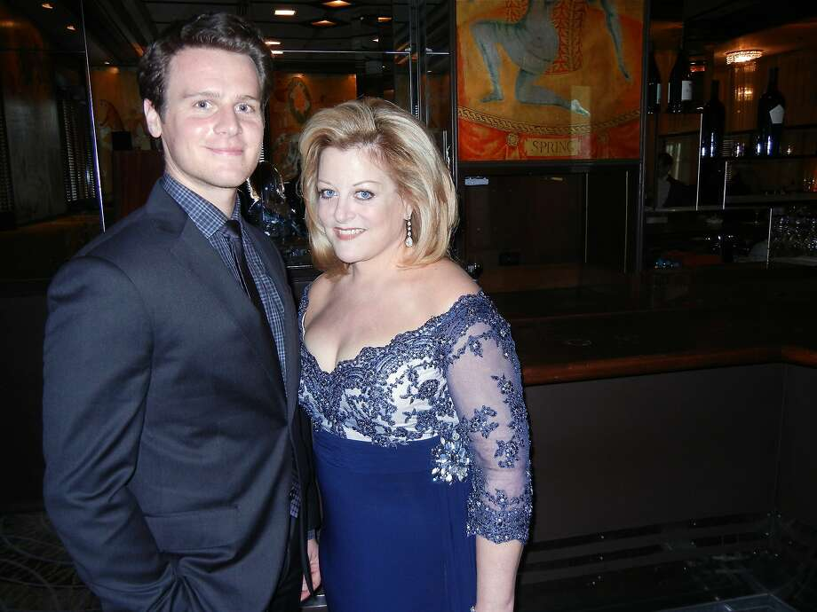 "Jonathan Groff of ""Looking"" and Deborah Voigt sang at POPera. Photo: Catherine Bigelow, Special To The Chronicle"