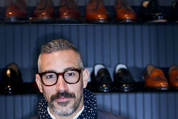 Unionmade founder Todd Barkett is seen in his San Francisco, Calif., store on Monday, April 21, 2014.