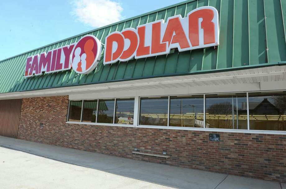 Exterior of the Family Dollar store which was flood-damaged two years ago Monday, April 21, 2014 in Fort Plain, N.Y. Repairs have been made and the store is set to open soon. (Lori Van Buren / Times Union) Photo: Lori Van Buren / 00026574A