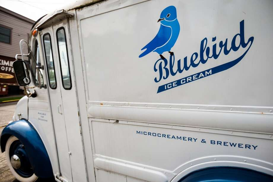 Bluebird Microcreamery and Brewery, multiple locations, Phinney Ridge, Fremont and Capitol Hill: Want some ice cream with that beer? Seems like an unlikely combination, but Bluebird pushes the boundaries by offering up pitchers of their own brewed beer along with your ice cream, or a scoop in your suds for a grown-up float. They're meant to go together here. Photo: JORDAN STEAD, SEATTLEPI.COM